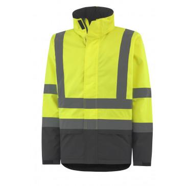 Kurtka ostrzegawcza wodoodporna ocieplana Alta Insulated Jacket CL 3