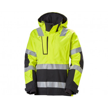 Damska Kurtka ostrzegawcza Luna High Vis Shell Work Jacket