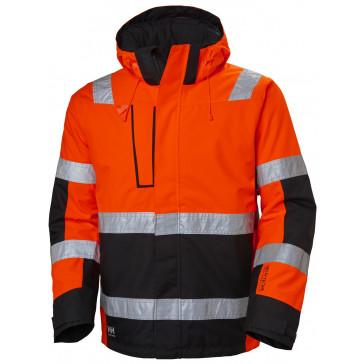 Kurtka ostrzegawcza wodoodporna ocieplana Alna Winter Jacket CL 3