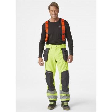 Spodnie ostrzegawcze wodoodporne Alna 2.0 Shell Construction Pant CL 2
