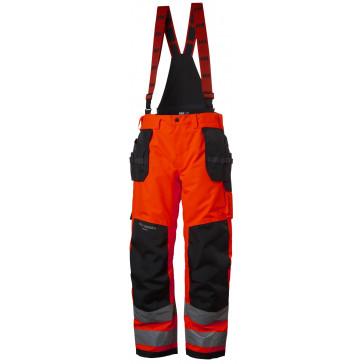 Spodnie ostrzegawcze wodoodporne Alna Shell Construction Pant CL 2