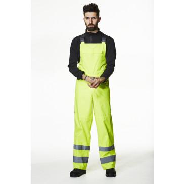 Spodnie ostrzegawcze wodoodporne Alta Shelter Bib CL 2