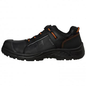 Buty robocze oddychające czarne Alna Leather BOA WW S3