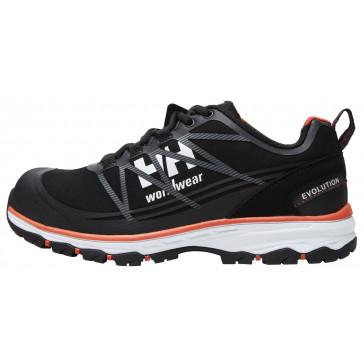Buty robocze oddychające czarne Chelsea Evolution Low S3