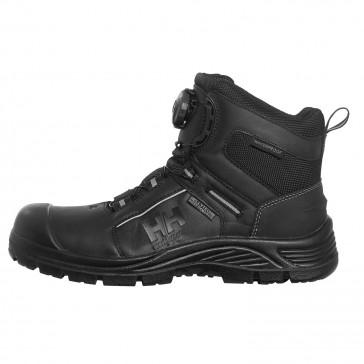 Buty robocze oddychające czarne Alna BOA Mid HT S3