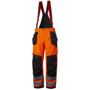 Spodnie ostrzegawcze wodoodporne ocieplane Alna Winter Construction Pant CL 2