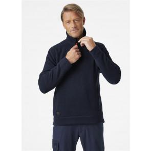 Polar ocieplany Kensington 1/2 Zip Knitted Fleece