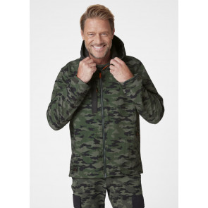 Kurtka robocza softshellowa Kensington Hooded Softshell Camo