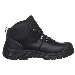 Buty robocze oddychające czarne Chelsea Mid HT WW S3
