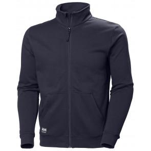 Bluza bawełniana Manchester Zip Sweatshirt