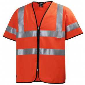 Kamizelka z krótkim rękawem ostrzegawcza Addvis Short Sleeve Vest CL 3