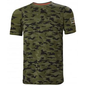 Koszulka bawełniana Kensington TShirt Camo